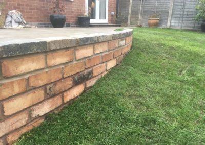 Garden wall resize