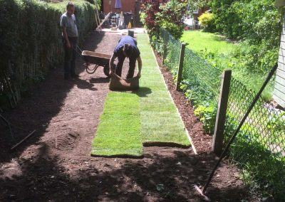 Turfing during