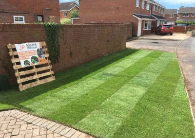 Landscaping-Turfing