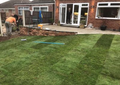 Landscaping resize