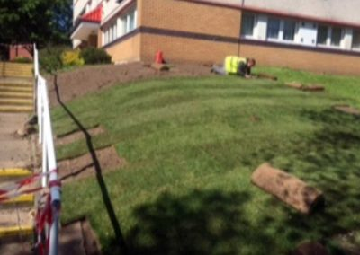 Commercial turfing