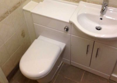 Bathroom furniture fitted